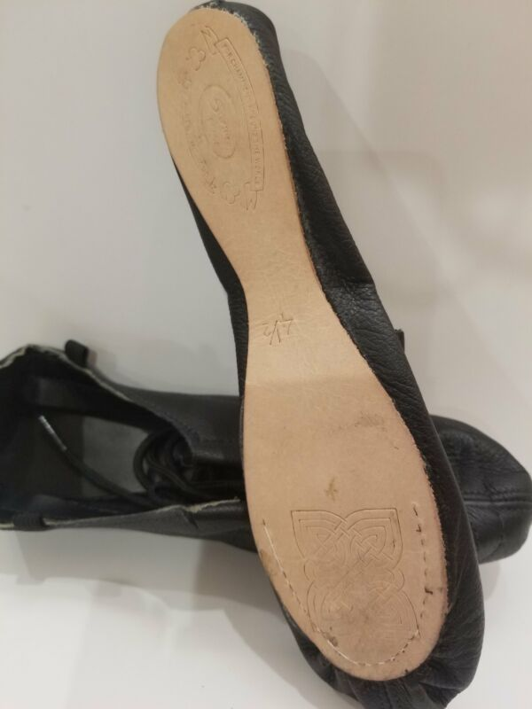 Irish Dance Soft Shoe - 100% Leather Sole and Upper - Steprite