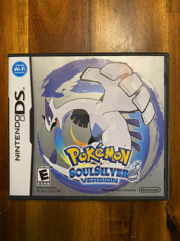Pokemon Soul Silver (Nintendo DS) Case and Manual Only, NO GAME