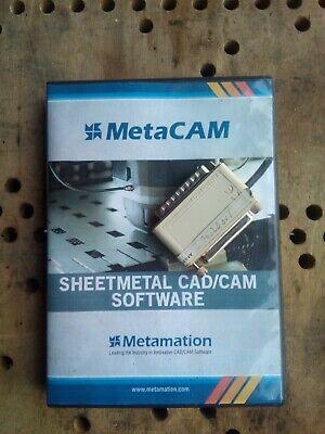 Metacam 8 Metamation Cad Cam Softwaremetalworking Cnc Turret Punch Sheetmetal