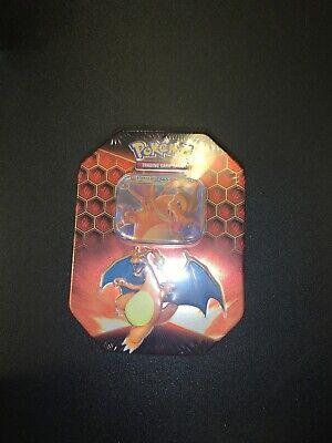 Pokemon Hidden Fates Tin - Charizard GX Promo 4 Booster Packs Brand New & Sealed