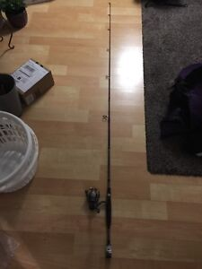 Brand new Quantum fishing rod and reel combo