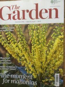 RHS The Garden Magazine December 2012