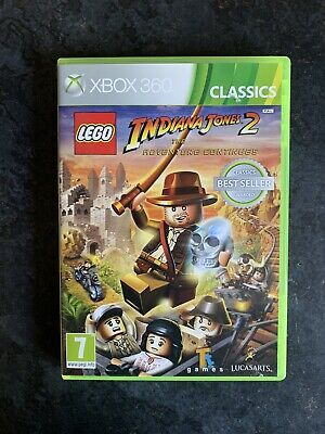 LEGO Indiana Jones 2: The Adventure Continues (Microsoft Xbox 360, 2008)