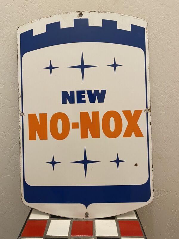 New No Nox Sign