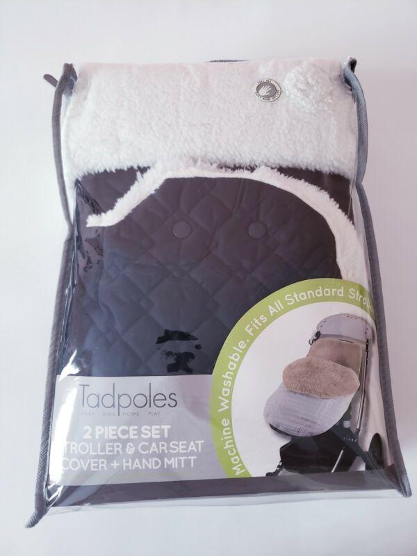Tadpoles Baby Stroller & Car Seat Cover, Black