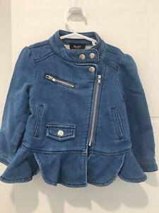Bardot Junior Denim Jacket BRAND NEW