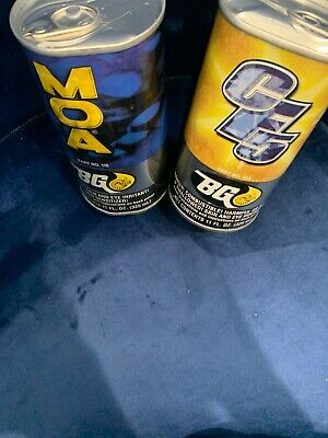 2 X BG MOA Engine Oil Supplement + CF5 Fuel System Cleaner Fast Shipping!