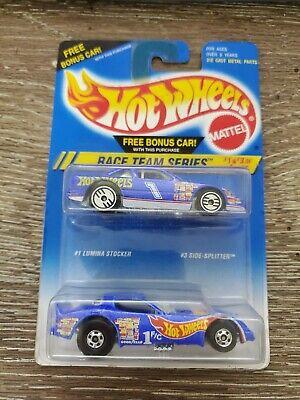 Hot Wheels Race Team Series #1 Lumina Stocker & #3 Side-Splitter -Funny Car