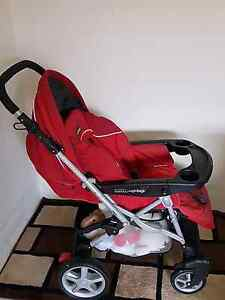 Pram , car seat, two bouncer Lakemba Canterbury Area Preview