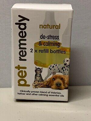 Pet Remedy Natural De Stress & Calming Relief Mini Spray .5 oz 15 ml Exp (Natural Pet Remedies)