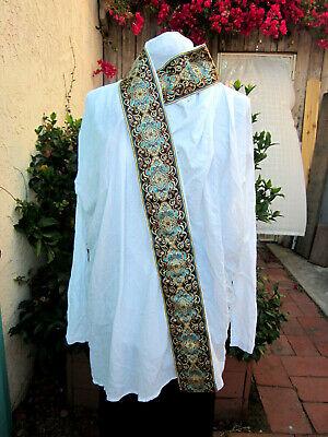 Romeo Gigli VTG Italy white gauze tunic wrap robe wide sari-ribbon Rare $490Etsy