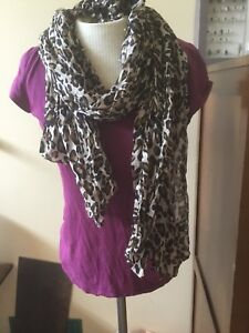 Two summer weight scarves