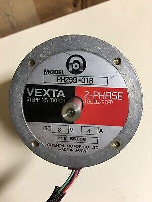 Vexta Oriental Motors Ph299-01b Nema 34 Stepper Motor 3v 4a High Torque Cnc
