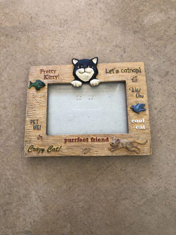 Cat Decor Picture Frame