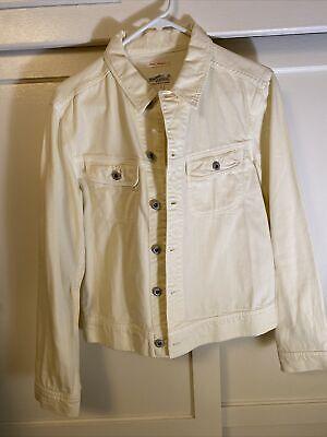 Gant Rugger Michael Bastian off white cream jacket men size S