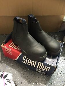 Work boots steel cap brand new Loganholme Logan Area Preview