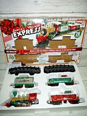 Santa's Village Express Christmas Battery Operated Train Set