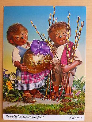 Postkarte AK Mecki * Ostern * Nr.320  Herzliche Ostergrüße