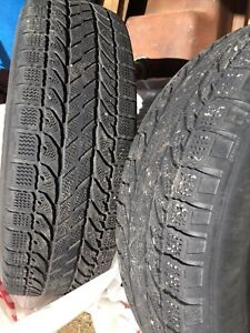 Used Goodrich winter tires for sale 215/70R16