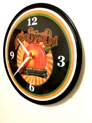 THE ALLMAN BROTHERS BAND - 12 INCH QUARTZ WALL CLOCK / FREE PRIORITY SHIPPING