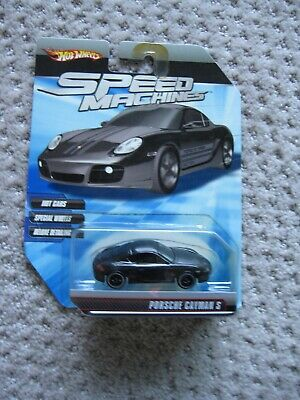 Hot Wheels Speed Machines Porsche Cayman S