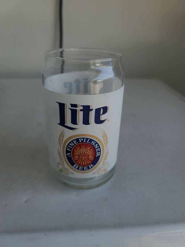 Vintage Miller Lite Beer Glass
