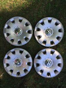 "15"" VW hubcaps x 4"