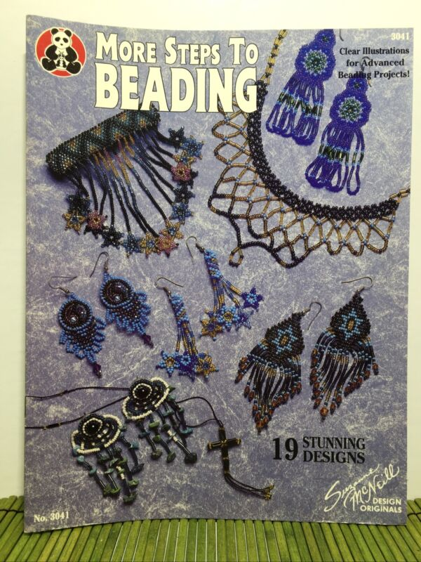 Suzanne McNeill More Steps to Beading 19 Stunning Designs #3041 Beading Patterns