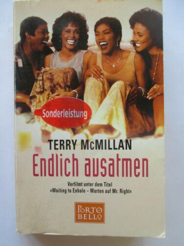 """Roman """"Endlich ausatmen"""" von Terry Mc Millan - Porto Bello"""