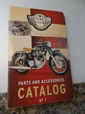 Royal Enfield Parts and Accessories Catalog No. 7