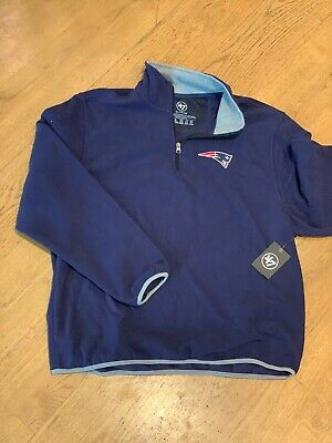 New England Patriots Men's Navy Blue Fleece - tags on
