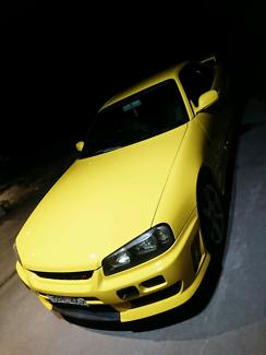 Nissan Skyline r34 gtt yellow nismo  Fletcher Newcastle Area Preview