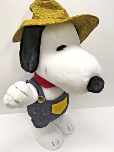 NEW - Large Snoopy Harvest Plush Door Greeter - 23 Inch Tall - Fall - Peanuts