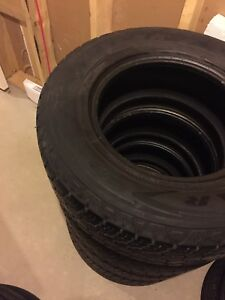 Set of 245/70R16 M+S Goodyear Wrangler