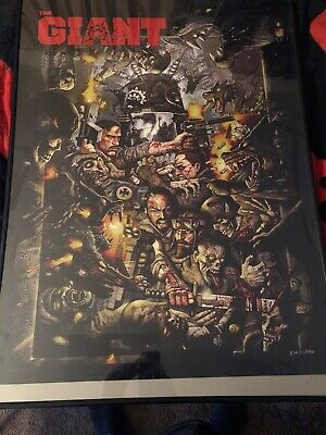 Call Of Duty Black Ops 3 Zombies The Giant Sdcc Poster