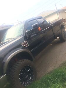 2008 6.4 f350 deleted & studded