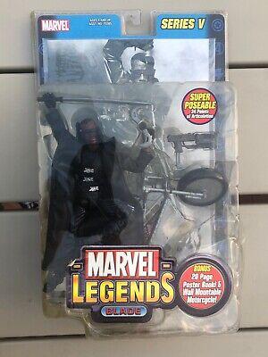 Marvel Legends Blade Series V / 2003 Wesley Snipes SEALED Action Figure Toy Biz