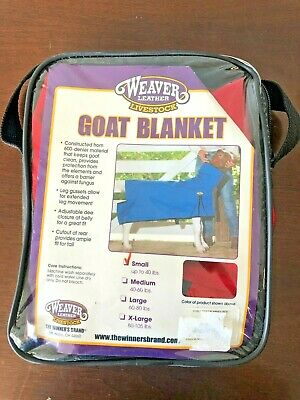 Weaver Livestock Goat Blanket - Small Red