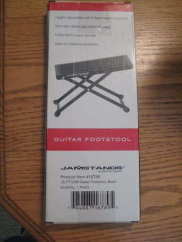 Ultimate Support Jamstands Guitar Footstool JS-FT100B Footrest BNIB