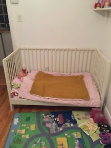 Crib-toddler bed