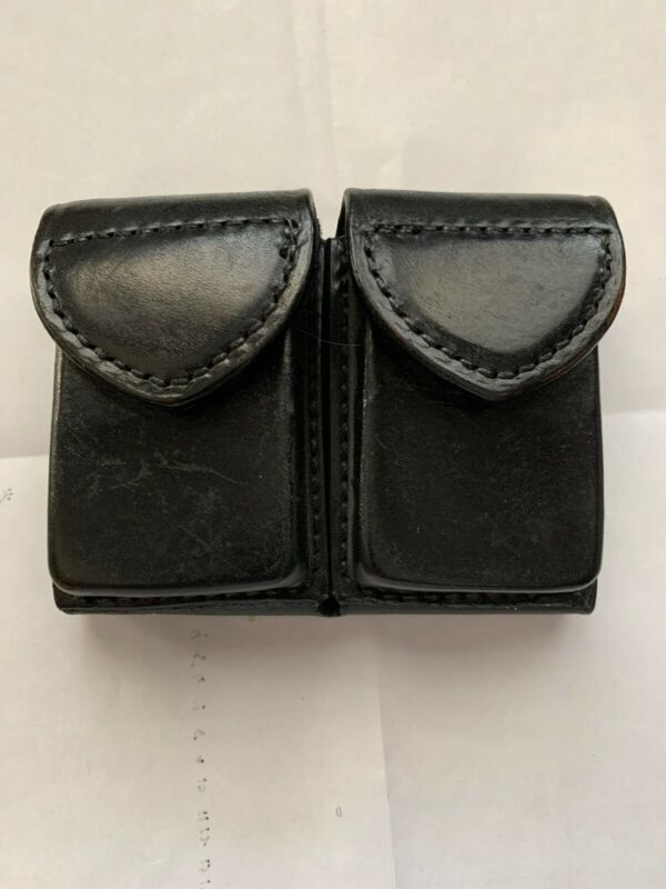 Vintage Safariland Leather Ammo Pouch - Adam 12