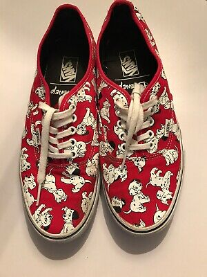 Disney 101 Dalmations Vans Size 9 Womens Mens