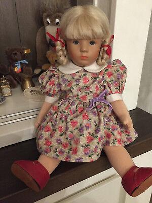 Käthe Kruse  - 1 wunderschöne Puppe - sehr schön erhalten