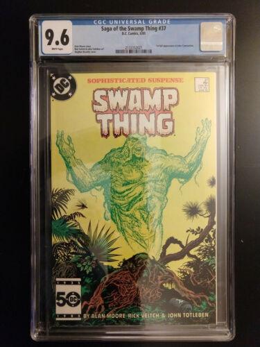 DC Comics SWAMP THING # 37 1ST APPEARANCE OF JOHN CONSTANTINE CGC 9.6