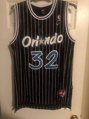 NWT Shaq Shaquille O'Neal #32 NBA Orlando Magic Throwback Jersey Swingman Nike