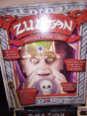 Gemmy Zultan Animated Talking Fortune Teller AS IS - not working 100%