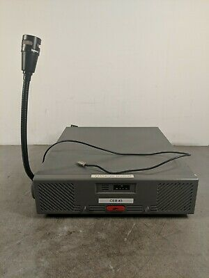 Motorola Centracom Gold Series B1822b With Shure Vr300 Mic