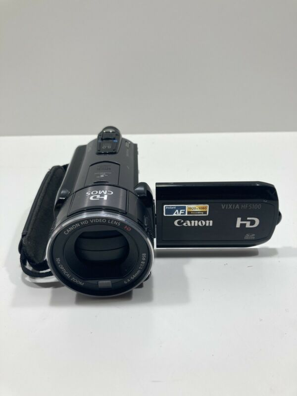 Canon Vixia HF S100 HD Flash Memory Camcorder with 10X Optical Zoom