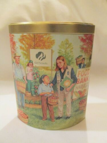 The Girl Scout Promise 1990's To Present Commemorative Tin
