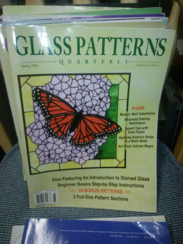 Stained GLASS PATTERNS QUARTERLY Magazine Spring 2006 Vol. 22 No. 1 Monarch